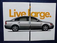 Volkswagen USA - The New Passat - US-Prospekt Brochure 1997