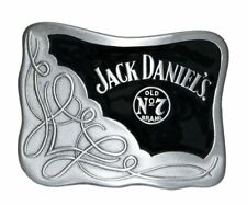 Jack Daniels Oblong belt Buckle with Tin