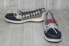 Sperry Angelfish Boat Shoes - Women's Size 6 S, Navy/Bretton