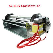 """Ac 100-120V Universal Large Cross-Flow Turbo Fan 7.5"""" Crossflow Cooling Fan Usa"""