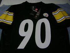 Pittsburgh Steelers # 90  T.J. WATT  Jersey  YOUTH 14 / 16  LARGE  NEW TEAM  NFL