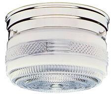 Design House 501999 Chrome 2-Light Flush Mount Ceiling Fixture