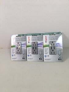 Silver Home Electrical Outlets Receptacles For Sale In Stock Ebay