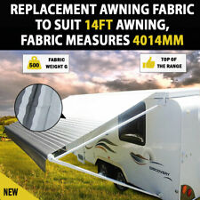 Awnlux Universal Manual RV Awning Fabric for Trailer Awning Fabric size 17 Feet 2 Inch for 18 Feet Awnings Maroon Color