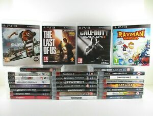 PS3 Games Pick Your Own Bundle PlayStation 3 Free UK Postage