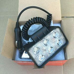 DURITE 6 LED Work Light - Magnetic Base + Cable - Part Number: 0-420-72