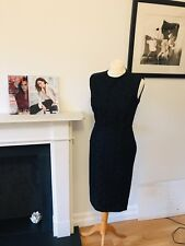 Victoria Beckham Mainline Dress 509 - Black Floral Lace UK 8 Brand New RP £1335