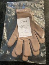 Tan Dance/ Skating Gloves