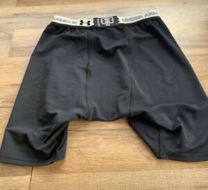 Under Armour Mens BoxerJock Workout Boxer Briefs Size Large Underwear Black (Q)