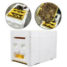 Hive Plastic Box Harvest Beehive Pollination Beekeeping Mating Bee-King-Foa S8J7