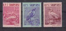 Albanien 1961 postfrisch MiNr.  630-632   Vögel