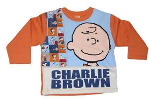 Kinder Pullover Sweatshirt Charlie Brown Snoopy Peanuts