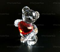 RARE Retired Swarovski Crystal Kris Bear My Heart is Yours 1143463 Mint Boxed