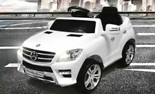 Lizenz Kinderauto Mercedes ML350 Jeep 6V 1x25W Motor Elektroauto Kinderfahrzeug