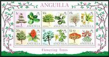 ANGUILLA - BF - 1976 - Fiori d'albero