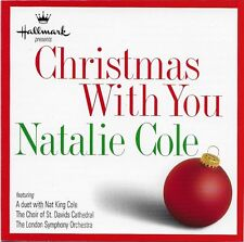 Christmas with You Natalie Cole Hallmark Card 1998