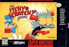 Itchy & Scratchy Game (Super Nintendo Entertainment System, 1995)
