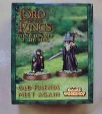 LORD OF THE RINGS OLD FRIENDS MEET AGAIN MINIATURES GWS
