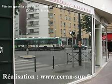 film miroir argent pour voir sans etre vu - largeur : 1,22 m - vente par mètre
