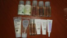 Whamisa Natural Fermentation Organic Skin Care Kit Mini Travel Size 11 bottles