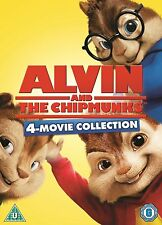 Alvin And The Chipmunks 1-4 Dvd New/Sealed