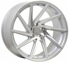 F1R F29 18X8.5 5X114.3 +38 SILVER WHEELS FIT LEXUS ES350 GS350 IS250 IS300 LS400