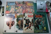 Tarzan of The Apes Lot 7 Comics Gold Key Korak 1967 68 DC #2 #4 Marvel ERB