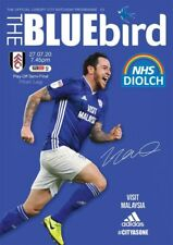 CARDIFF CITY V FULHAM  PLAYOFF OFFICIAL MATCH PROGRAMME 27/07/20