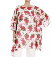 MARINA RINALDI by MAX MARA, SILK Blouse, Plus Size MR 29, 20W US, 50 DE, 58 IT