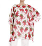MARINA RINALDI by MAX MARA, SILK Blouse, Plus Size MR 23, 14W US, 44 DE, 52 IT