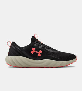 Men UA Under Armour Charged Will Trainers Shoes Black/Beige/Orange 3022038-001