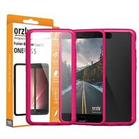 Orzly Fusion Bumper Case Cover Protective Shell for OnePlus 5