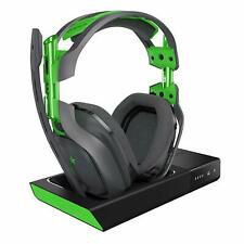 ASTRO A50 Wireless 7.1 Dolby Video Gaming Headset - Black/Green - Xbox/PC