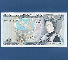 GROSSBRITANIEN ENGLAND  5 Pounds (1973-80)  UNC  P. 378 b
