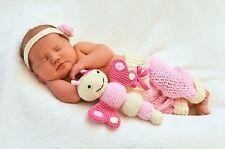 Gehäkeltes Neugeborenen Schmetterling Set, Newborn Fotoshooting, Baby Fotografie
