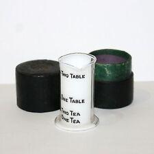 Antique Glass Beaker in case S Maw Son & Thompson London Pharmacy medicine