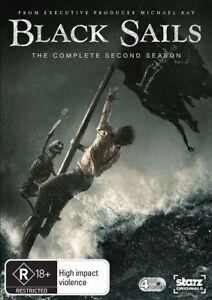 Black Sails : Season 2 ( 4 Discs ) Australian stock