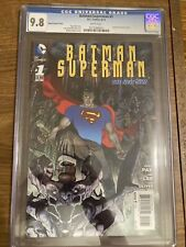 Barman/Superman  #1 2013 CGC 9.8 Superman Varient Cover