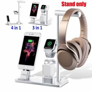 4in1 Charging Station Charger Stand Dock For Apple Watch iPhone iPad Air Pods US