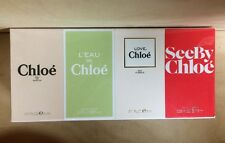 Chloe Les Parfums 4 Piece Mini Gift Set by For Women Fragrance Collection NIB