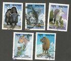 AOP Bhutan #1224a-e 1999 Fauna ANIMALS set of 5 used