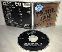 CD PEARL JAM - HOLLYWOOD  1992