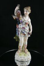 Antique Sitzendorf Figure Lady Hunter Huntress