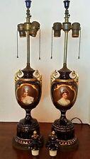 Wonderful Pair of Antique Royal Vienna Vases
