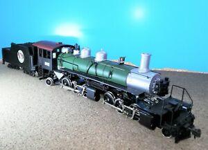 NEU...Mantua H0 Mallet schwere Dampflok USA + 4 Waggons. S.Fotos.
