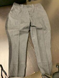 "Dark Grey w/Black Police 'Jodhpurs' Trousers - Mounted / Motorcycle - 34"" X 30"""