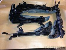 94-95 Honda Accord OEM front seat rails railings brackets mounts non powered 4d