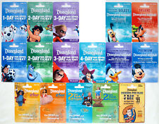 16 Different DISNEYLAND Passport Disney Gift Cards 2008:Dalmatians, Incredibles+