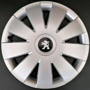 "Set of 4x15"" Wheel Trims to fit Peugeot 207,208,307,308,Partner"