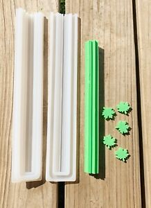 Maple Leaf Tube Column Silicone Soap Mold Embed Soap Cold Process Making